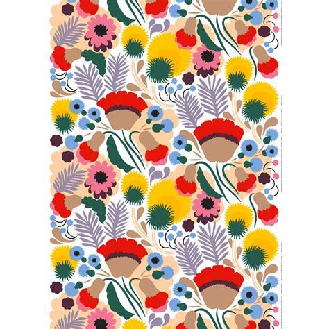 marimekko stoffe marimekko ojakellukka fabric marimekko cotton fabrics