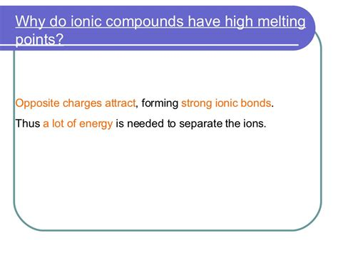 ionic compounds and metals ppt download