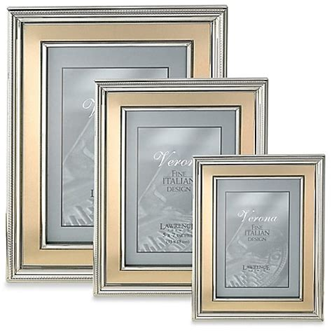 bed bath and beyond picture frames lawrence frames silver plated picture frame with brushed