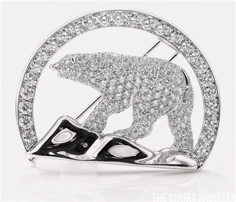 Polar Diamonds In The kate s jewelry box the polar brooch the court jeweller