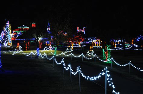 catchy collections of walk through christmas lights