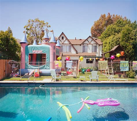 house pool party swimming pool birthday party backyard design ideas