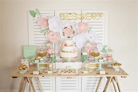 Kitchen Decorations Ideas Theme how to style a dessert table modern wedding