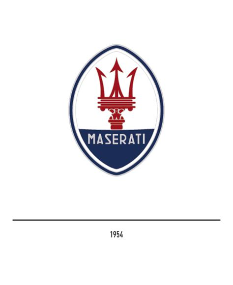 maserati blue logo the maserati logo history and evolution