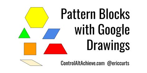 pattern block smartboard activities control alt achieve