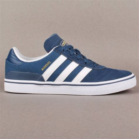 adidas skateboarding adidas busenitz vulc skate shoes blue running white