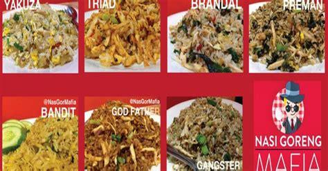 membuat nasi goreng mafia resep masakan indonesia