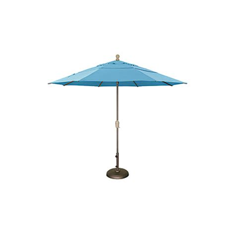 Patio Umbrellas That Tilt Patio Umbrella 11 Ft Deluxe Auto Tilt Krt Concepts Patio Furniture