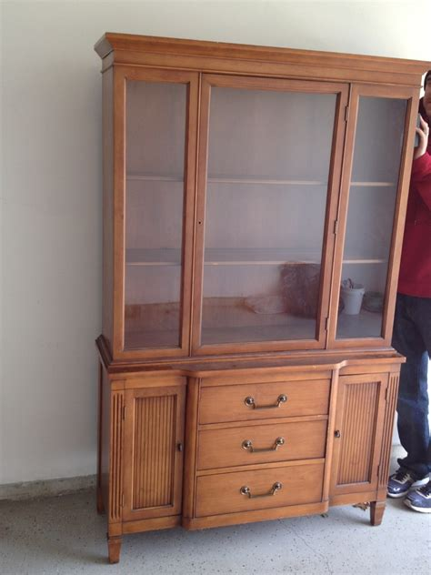 China Cabinet by Our Pinteresting Family China Cabinet Project With Lace