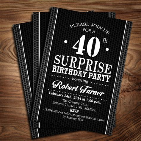 40th birthday invitation templates 24 40th birthday invitation templates psd ai free premium templates