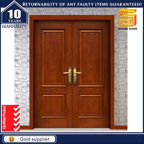 solid wooden exterior doors china exterior panel design solid wood veneer