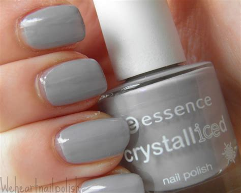 Grijze Nagellak by We Nailpolish Essence Crystalliced Nagellak