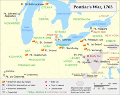 battles pontiac pontiac s war
