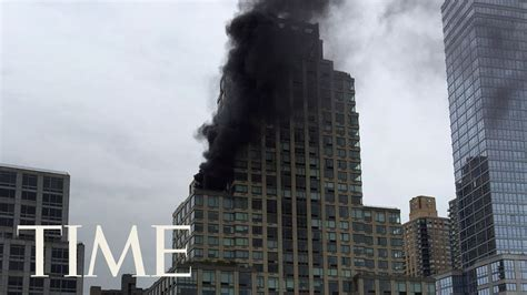 pictures of trump tower trump tower reports of fire at donald trump s skyscraper