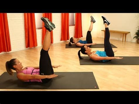 pilates ab workout define your waistline class fitsugar