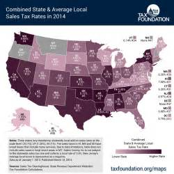 us map sales tax combined state and average local sales tax rates tax