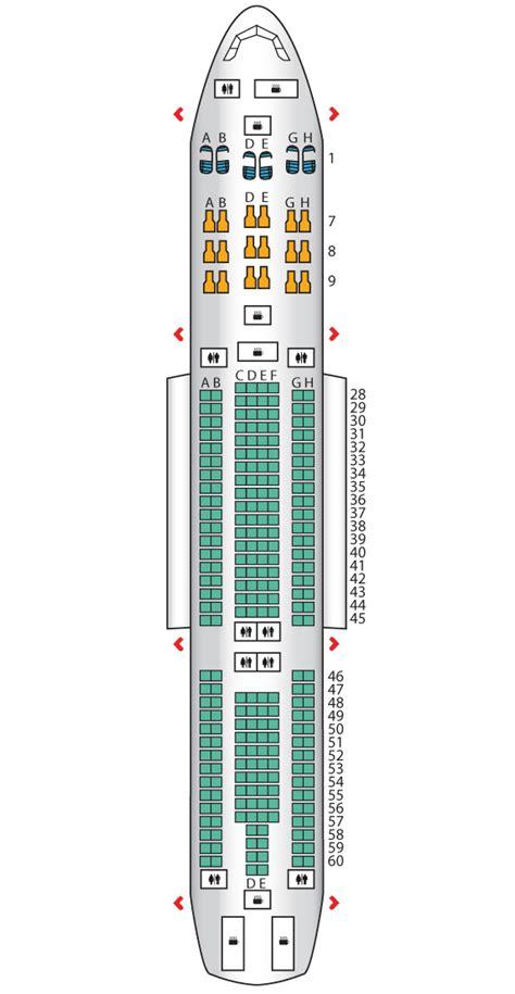 image gallery korean air a330 seat