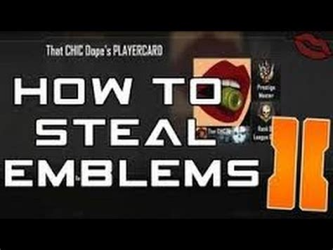 after patch black ops 2 how to emblems ps3xbox patched black ops 2 how to other players emblems
