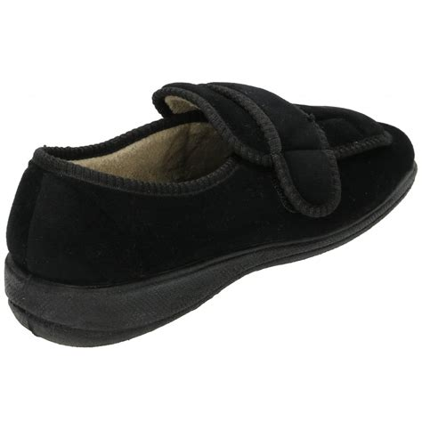 slipper shoes dr keller velcro fastening slipper shoes soft