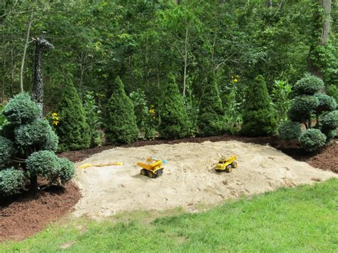 backyard sandpit backyard sandpit 28 images finished article sandpit in