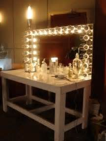 Vanity Table With Lights And Mirror vanity table with mirror and lights foter