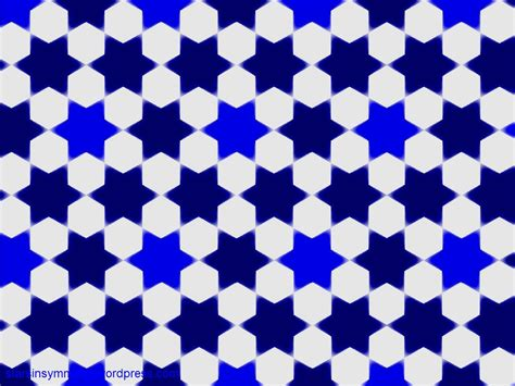 blue islamic pattern projects islamic star pattern wallpapers stars in symmetry