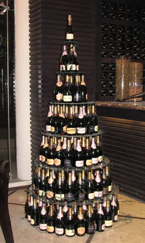 christmas tree made from wine bottles six amazing ways to reuse your wine bottles