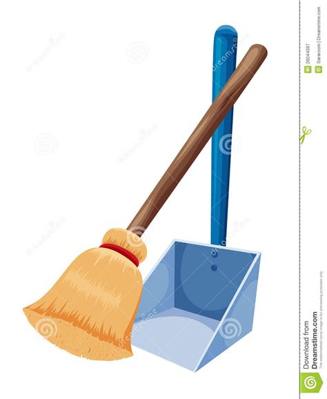 Broom And Dustpan Clipart broom and dust pan clipart