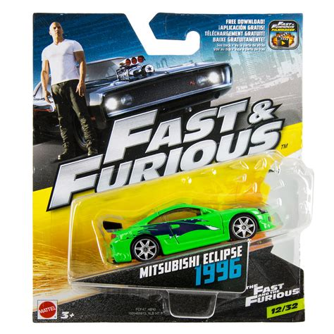 Hotwheels Fast And Furious wheels fast furious 1 55 1996 mitsubishi eclipse at hobby warehouse