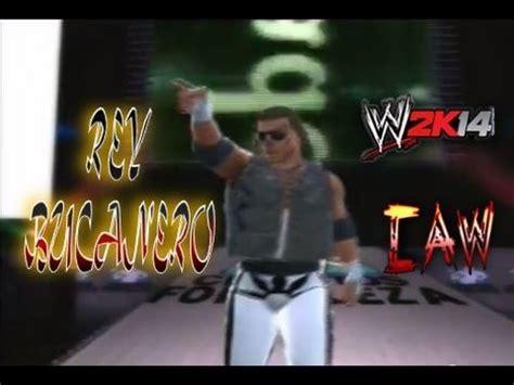 wwe 2k14 caws xbox 360 rey bucanero caw cmll wwe 2k14 caws mexicanos en la