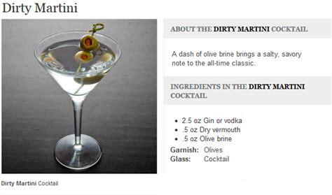 vodka martini ingredients