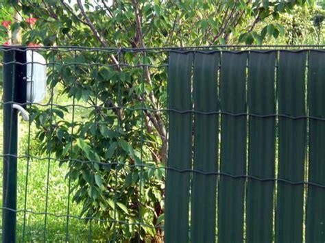 recinzioni privacy giardino staccionate in plastica per giardino