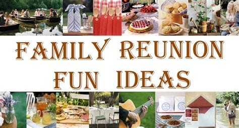 family photo themes ideas family reunion fun ideas family reunion ideas pinterest