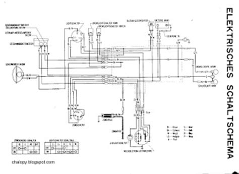 honda tl125 wiring diagram honda wiring diagram site