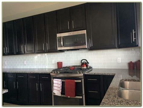 glass tile backsplash ideas with dark cabinets 2017 best white white subway tile backsplash with dark cabinets tiles