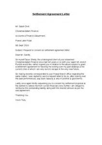 Debt Agreement Sle by Settlement Agreement Letter Hashdoc