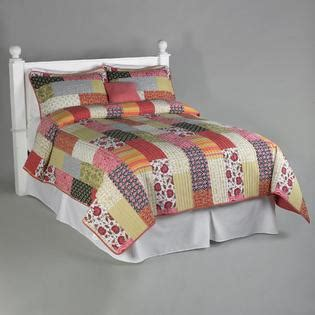 Kmart Quilts Sets patchwork quilt complete bed set get cozy with sears and