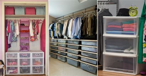 affordable ways to organize your closet and drawers