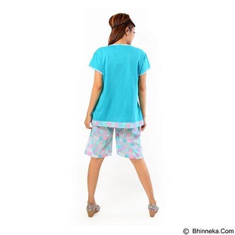 Setelan Baju Tidur Murahbaju Tidur Pendekset Biru Tosca jual forever baju setelan wanita fit celana pendek p 662 tosca merchant murah