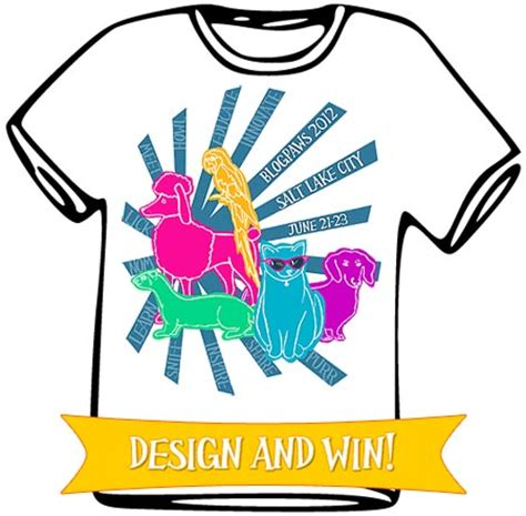 design t shirt contest win blogpaws pass with t shirt design mousebreath