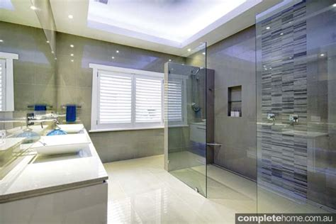 sleek bathroom design sleek and symmetrical bathroom design completehome