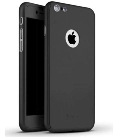 Promo Ipaky Iphone 6 47 Iphone 6 6s Diskon apple iphone 6s cover by ipaky black plain back covers at low prices snapdeal india