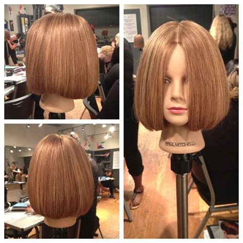 short one length hairstyles short round one length paulmitchell hair haircut