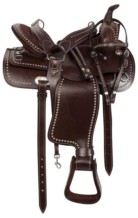 horse saddle 16 quot pleasure trail endurance western horse leather saddle