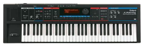 Keyboard Juno roland juno di synthesizer