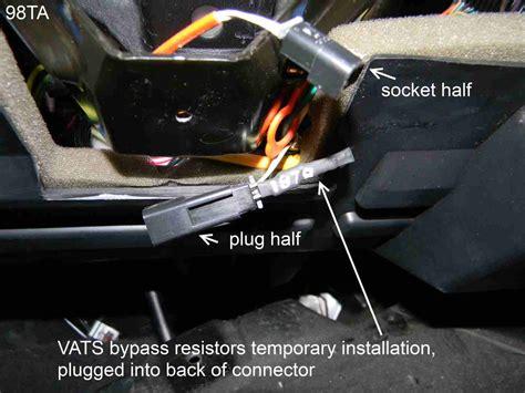 vats bypass resistance vats resistor wiring help third generation f message boards
