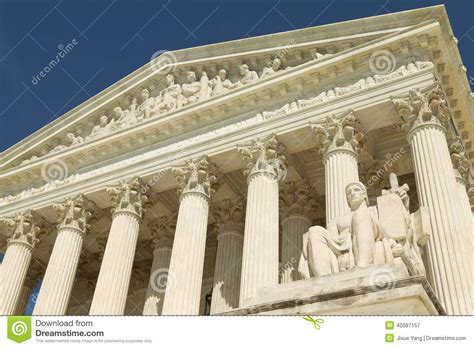 us supreme court closeup of details royalty free stock us supreme court stock photo image 40097157