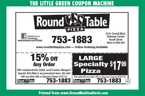Table Discount Code by Table Pizza Coupons 25 Car Wash Voucher