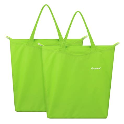 shopping bags foldable reusable grocery bag shopping tote travel recycle
