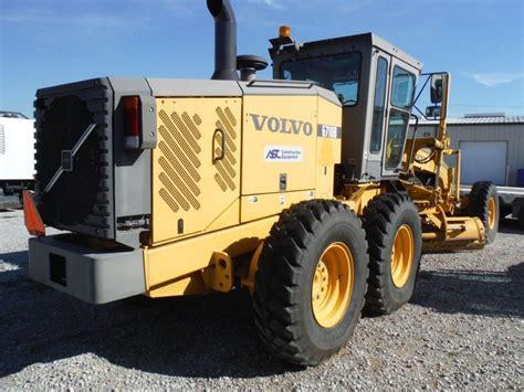 2006 volvo g710b motor grader s n 38240 14 hyd